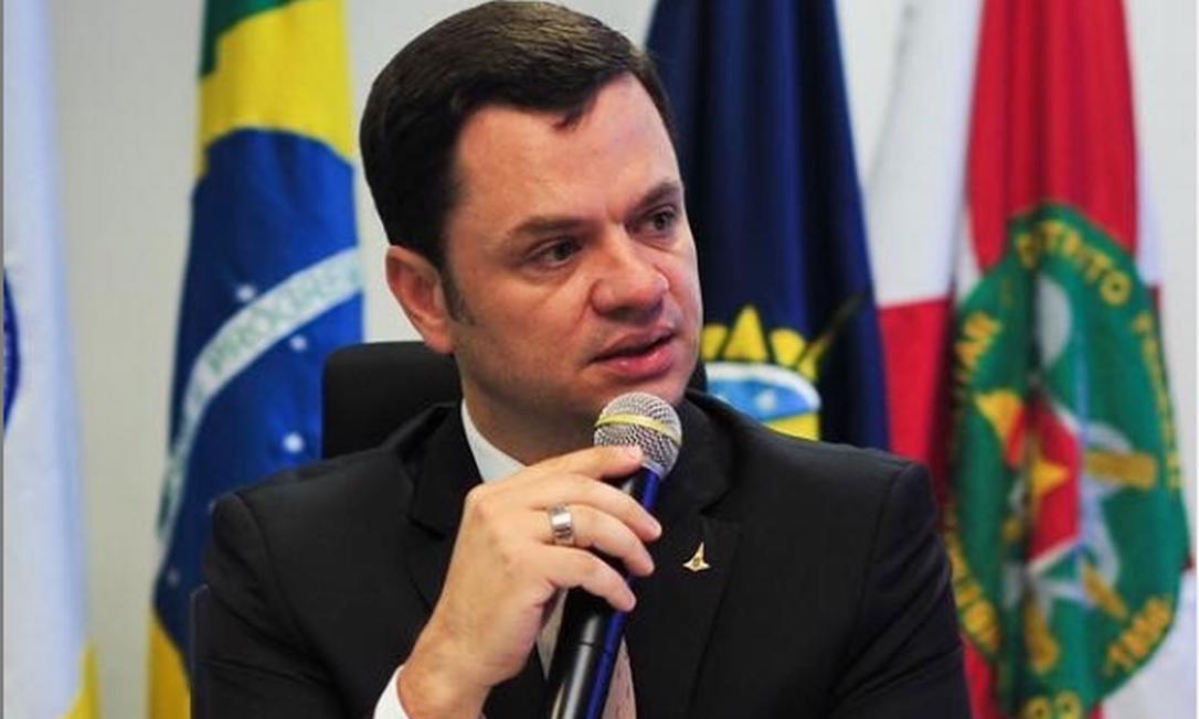 O delegado Anderson Gustavo Torres é o atual secretário de Segurança Pública do Distrito Federal Foto: Reproduçao/Instagram SSP/DF