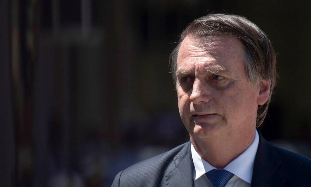 O presidente da República, Jair Bolsonaro Foto: Foto: MAURO PIMENTEL / AFP 07-03-19