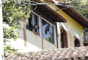 Fachada da casa da deputada Flordelis Foto: Marcos Ramos / Agência O Globo