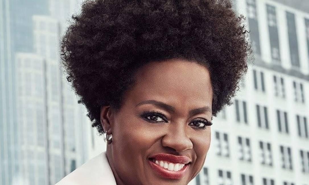 Viola Davis: nova embaixadora de marca de cosméticos Foto: Divulgação/L'Oréal
