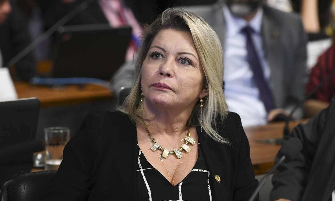 Senadora Selma Arruda: 'Os ministros do STF só veem o próprio umbigo' Foto: Jefferson Rudy / Agência O Globo