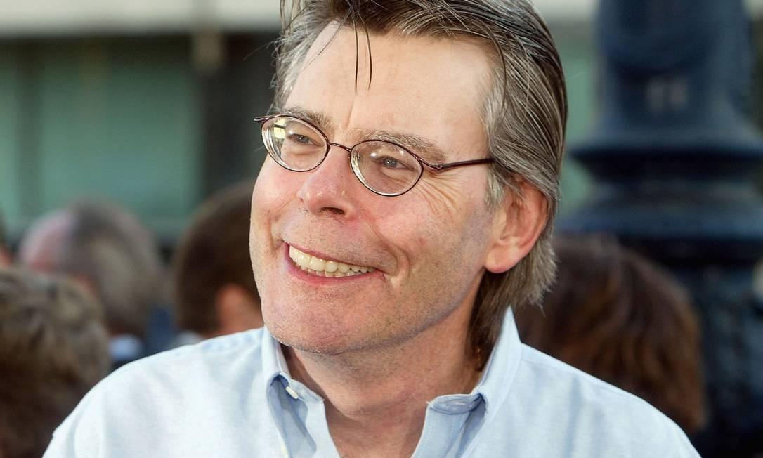 O escritor americano Stephen King Foto: Divulgação / Agência O Globo