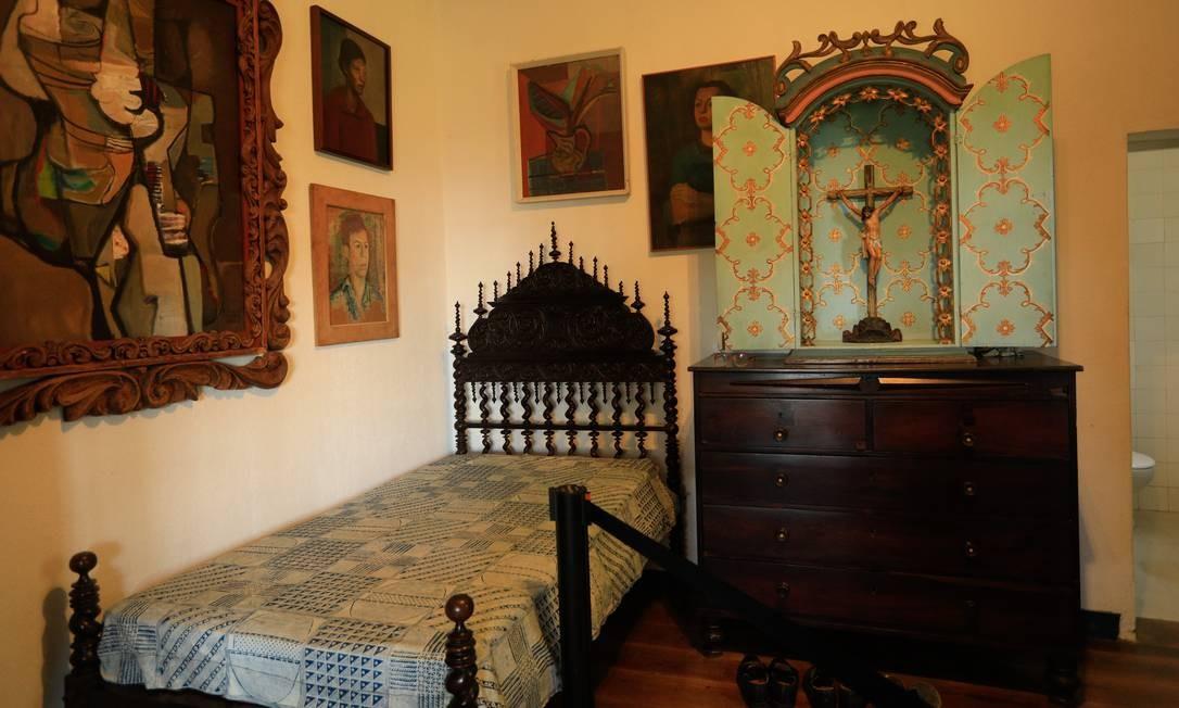 Há ainda o Museu Casa de Burle Marx, que preserva 3.125 peças, entre raros objetos de arte e artesanato reunidos ao longo da vida do paisagista Foto: Brenno Carvalho / Agência O Globo
