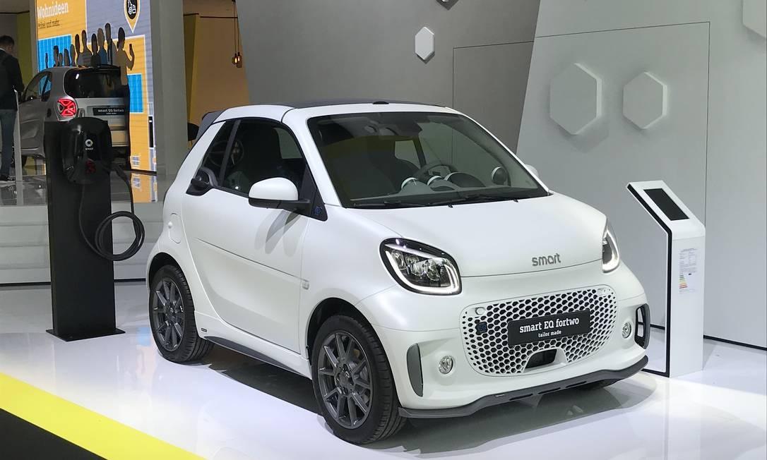 Smart - Carros 100% elétricos e modelos maiores a partir de 2022 Foto: Jason Vogel