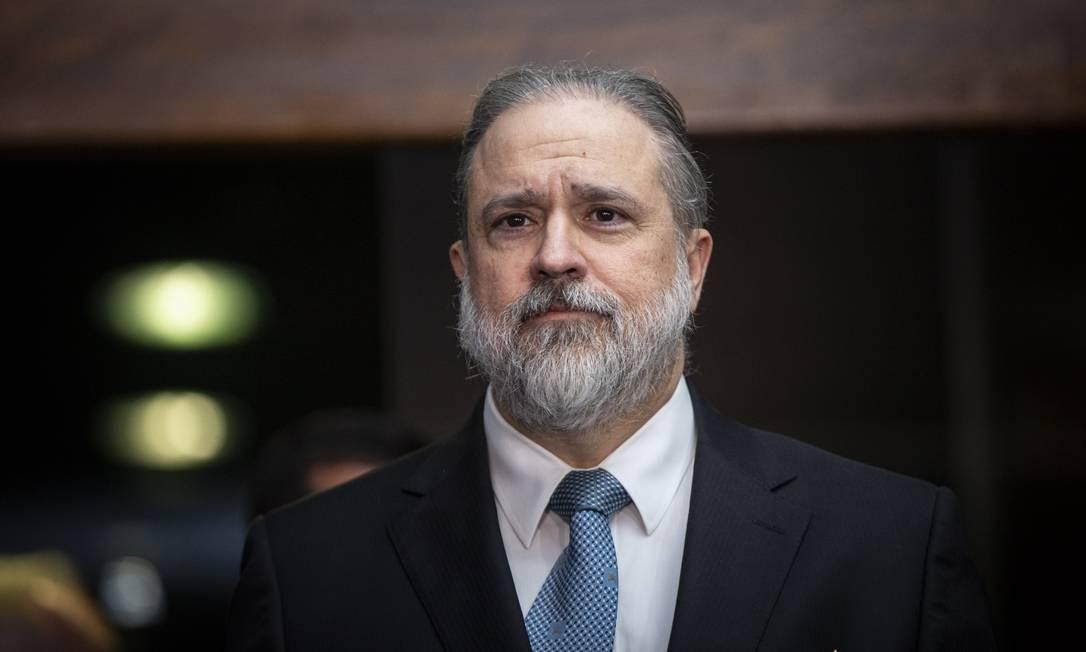 O suprocurador Augusto Aras, indicado por Bolsonaro para a PGR Foto: Daniel Marenco / Agência O Globo