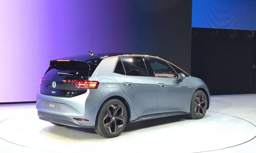 Volkswagen ID.3 - o compacto tem autonomia deaté 550Km. Os preços começam em € 30 mil Foto: Jason Vogel