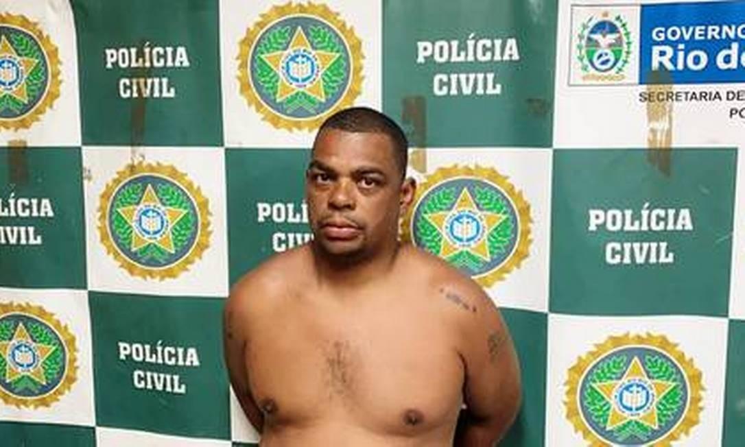 Ele é considerado atual chefe do tráfico na comunidade Foto: Divulgação/Polícia Civil