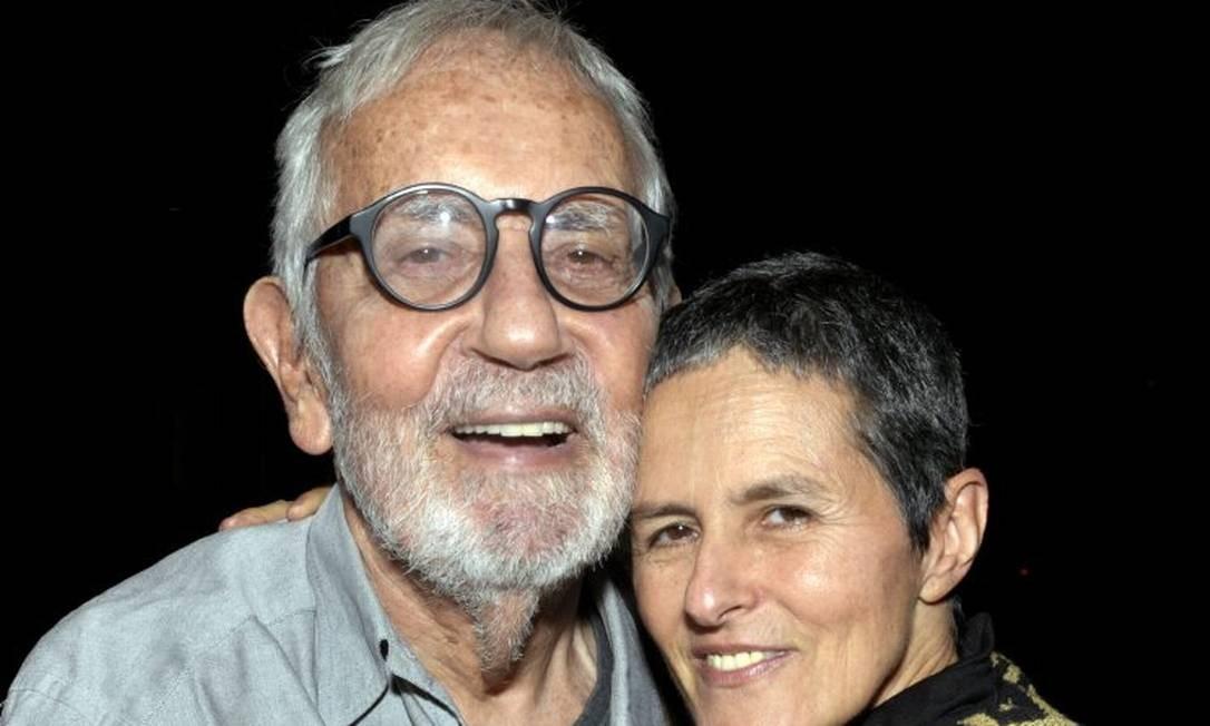 O ator Paulo José e a diretora Bia Lessa Foto: Divulgação/Cristina Granato