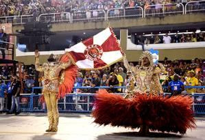 Desfile da Estácio de Sá, campeã da Série A no carnaval de 2019 Foto: Arquivo / 02/03/2019 / Diego Mendes / Agência O Globo