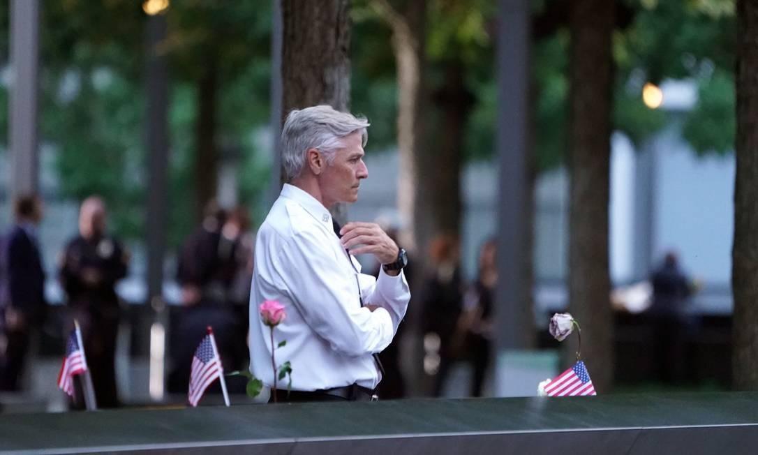 O número oficial de mortos nos ataques ao World Trade Center é de 2.753, incluindo os desaparecidos e presumidos mortos. Foto: DON EMMERT / AFP
