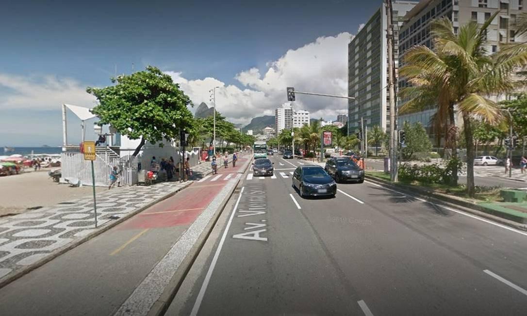 O local onde Fofuxo foi preso Foto: Google Street View / Reprodução