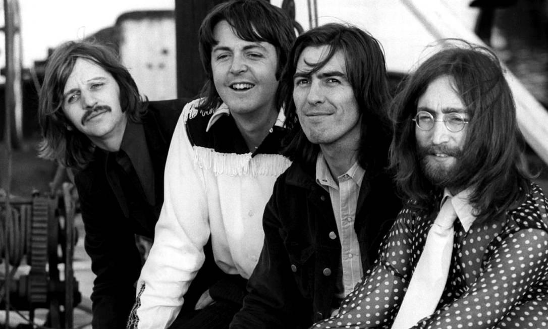 A banda inglesa Beatles Foto: Divulgação