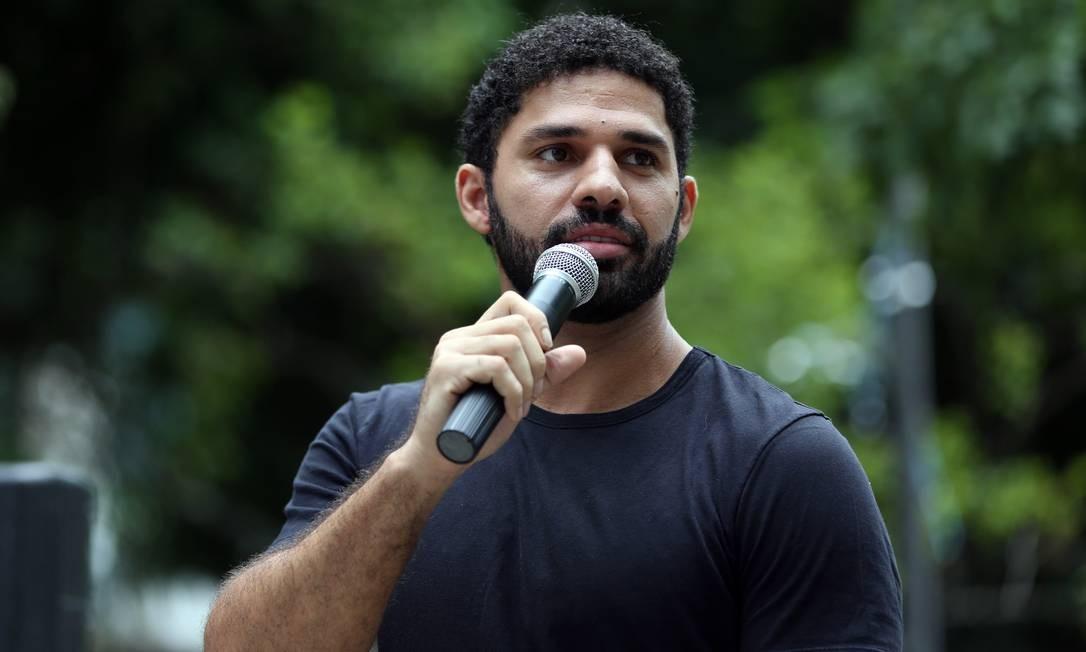 O deputado federal David Miranda Foto: Lucas Tavares / Agência O Globo