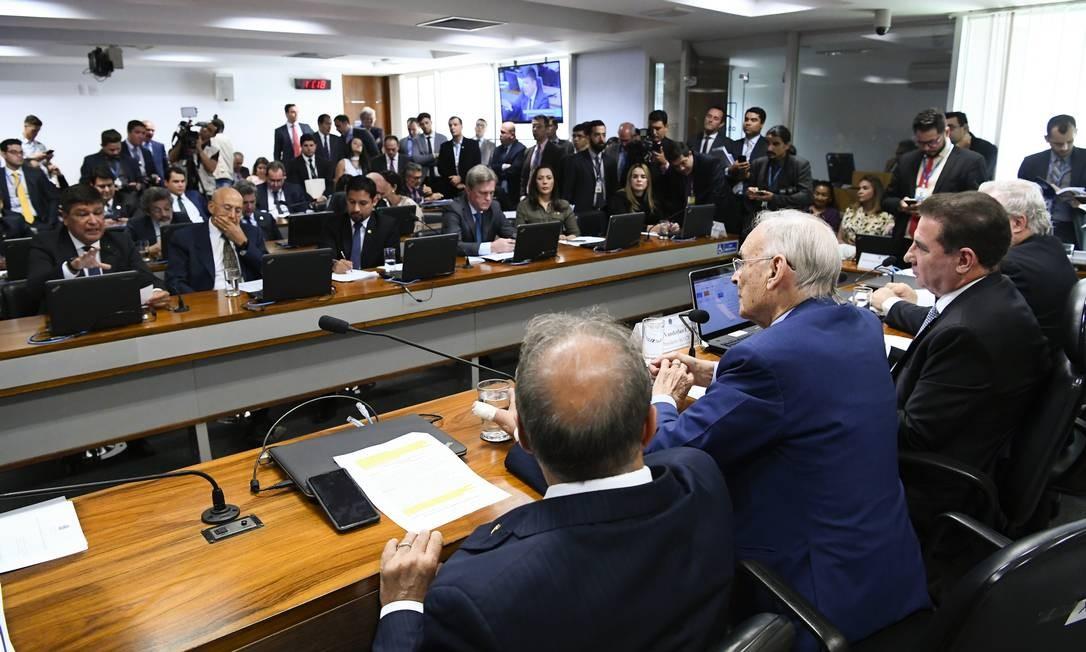 Reunião da Comissão de Ciência, Tecnologia, Inovação, Comunicação e Informática (CCT) do Senado Foto: Geraldo Magela / Geraldo Magela/Agência Senado