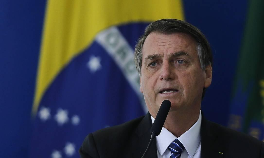 O presidente Jair Bolsonaro descartou a CPMF. Foto: Jorge William / Agência O Globo