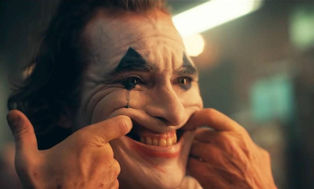 """Joaquin Phoenix como o personagem-título do filme """"Coringa"""" Foto: Divulgação"""