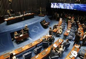 A proposta permite que cada partido utilize um sistema diferente para a prestação de contas Foto: Fabio Rodrigues Pozzebom / Agência O Globo