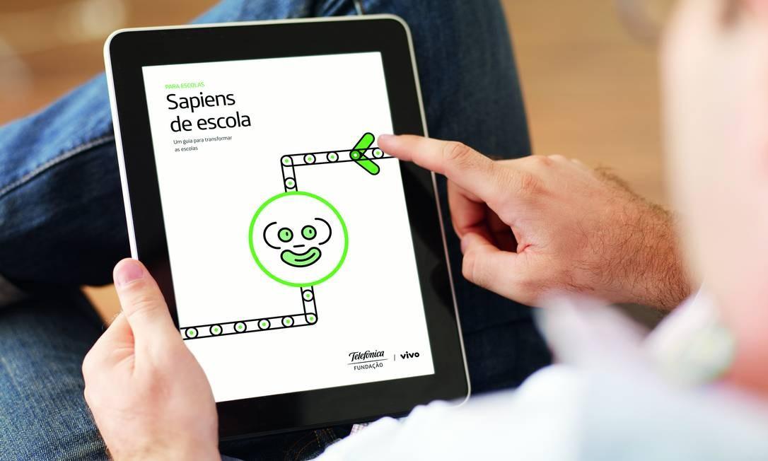 Projeto Escolas Criativas, do chef Ferran Adrià, está disponível para download gratuito no site da Fundação Telefônica Vivo Foto: Getty Images