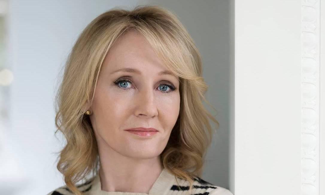 A escritora J K Rowling Foto: Divulgação
