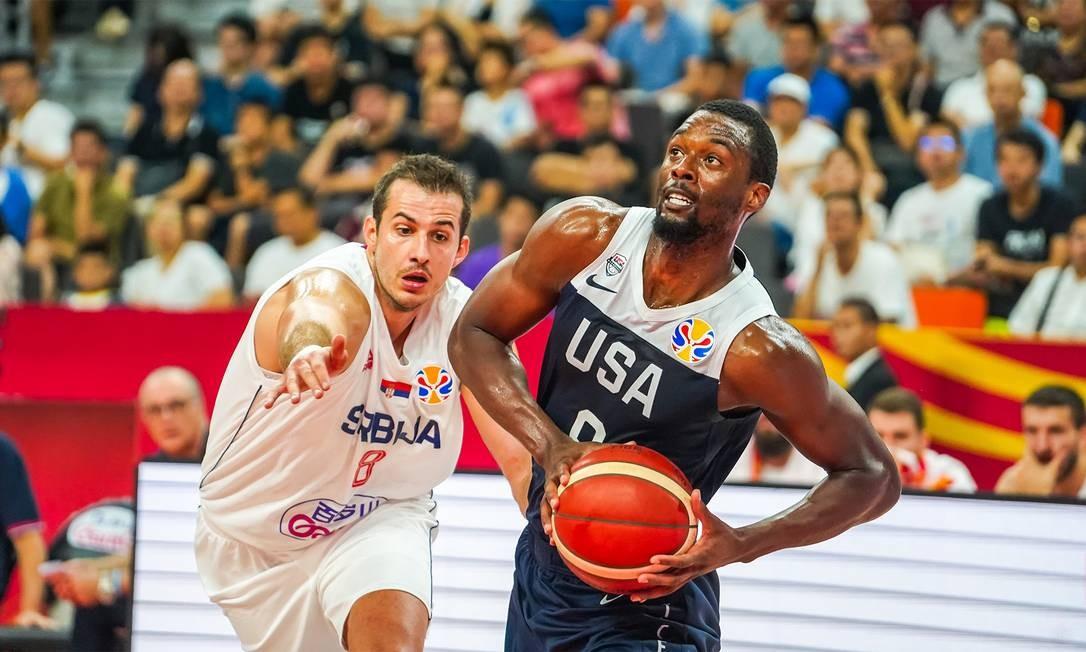 Harrison Barnes valorizou comprometimento do time americano no Mundial Foto: Divulgação/USA Basketball