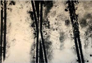 Obra de Carlos Vergara em nova individual do artista no Museu de Arte Moderna Foto: Divulgação