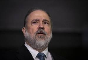 O subprocurador Augusto Aras indicado para comandar a Procuradoria-Geral da República Foto: Daniel Marenco / Agência O Globo