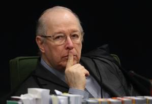 Ministro Celso de Mello, do Supremo Tribunal Federal Foto: Givaldo Barbosa / Agência O Globo