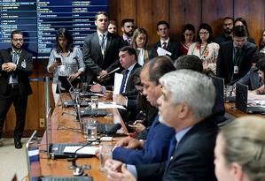 Comissão Parlamentar Mista de Inquérito (CPMI) sobre Fake News ensaia ter um espectro amplo de investigação Foto: Agência Senado