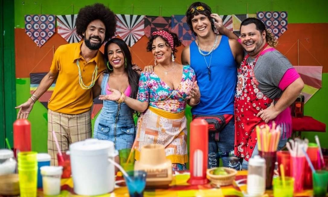 Elenco de 'Vai que cola 2' Foto: Divulgação