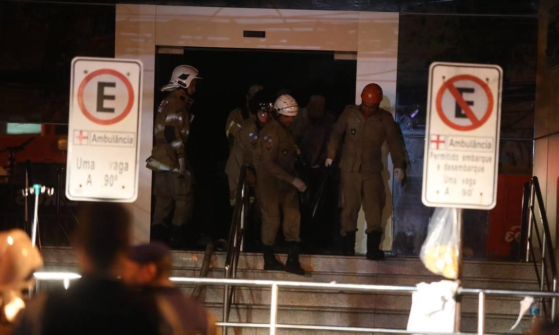 Incêndio em hospital Badim Foto: Fabio Motta