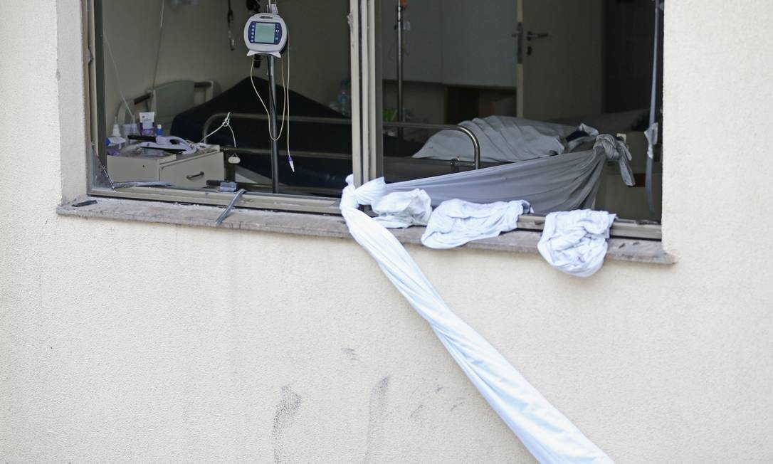 RI - Rio, 13/09/2019, Incêndio no Hospital Badim - Incêndio no Hospital Badim, no Maracanã, deixa ao menos 11 mortos. Foto: Márcia Foletto / Agência O Globo Foto: Marcia Foletto / Agência O Globo