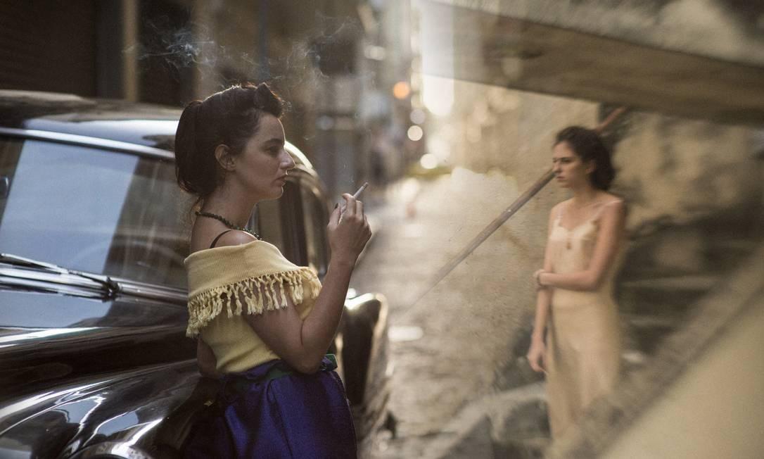 Cena de 'A vida invisível', de Karim Aïnouz, filme indicado pelo Brasil ao Oscar 2020 Foto: Bruno Machado / Divulgação