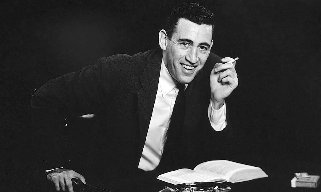 """O escritor americano J. D. Salinger, autor de """"O apanhador no campo de centeio"""" e """"Nove histórias"""" Foto: Antony Di Gesu / Divulgação"""
