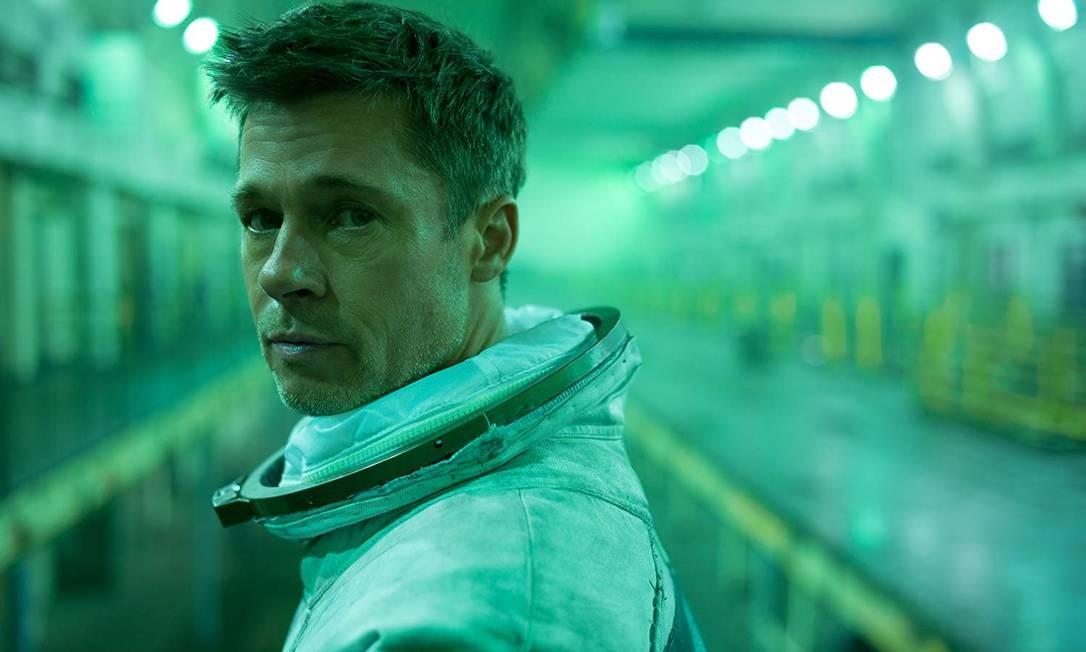 """Brad Pitt é um engenheiro espacial que cruza a galáxia no filme """"Ad Astra: Rumo às Estrelas"""", que estreia em 26 de setembro Foto: Divulgação"""