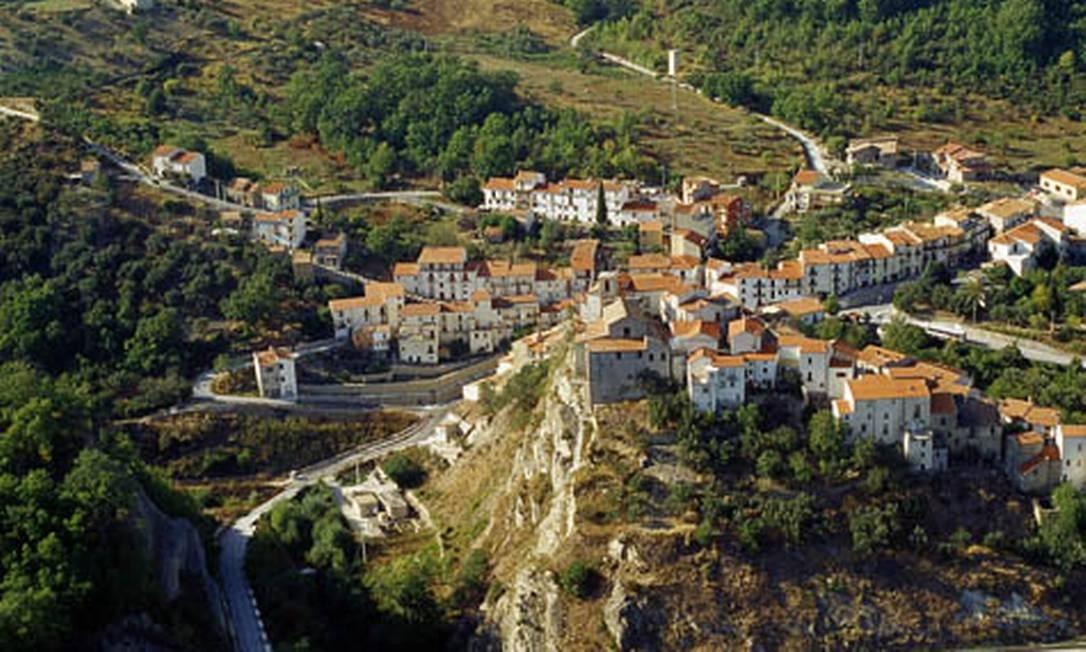 Castelverrino tem apenas 70 habitantes Foto: Divulgação