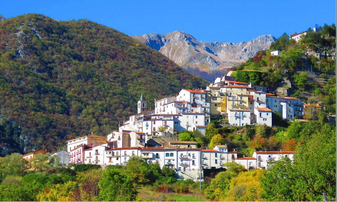 Pizzone pertence ao território onde se encontra o Parque Nacional de Abruzzo, Lazio e Molise, um dos mais antigos da Itália. Foto: Reprodução