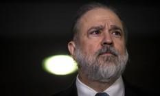 O procurador Augusto Aras foi indicado para comandar a PGR Foto: Daniel Marenco / Agência O Globo