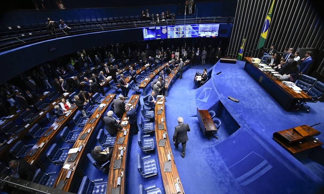"""Senadores avaliam ter """"pesado"""" na avaliação a postura considerada """"corporativista"""" dos conselheiros Foto: Marcos Oliveira / Agência Senado"""