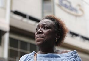 Ana Lúcia Armando: 'Não dava para ter proporção do que tinha acontecido' Foto: Pablo Jacob / Agência O Globo