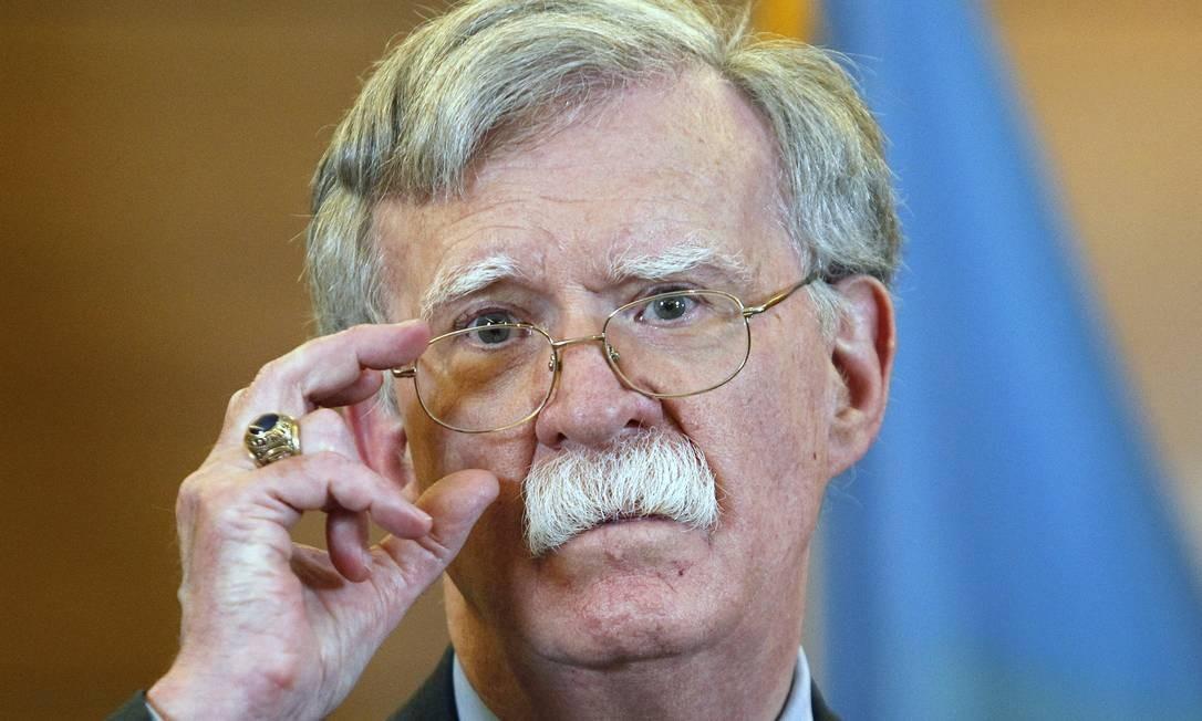 John Bolton foi o terceiro conselheiro de Segurança Nacional de Donald Trump Foto: SOPA Images / SOPA Images/LightRocket via Gett