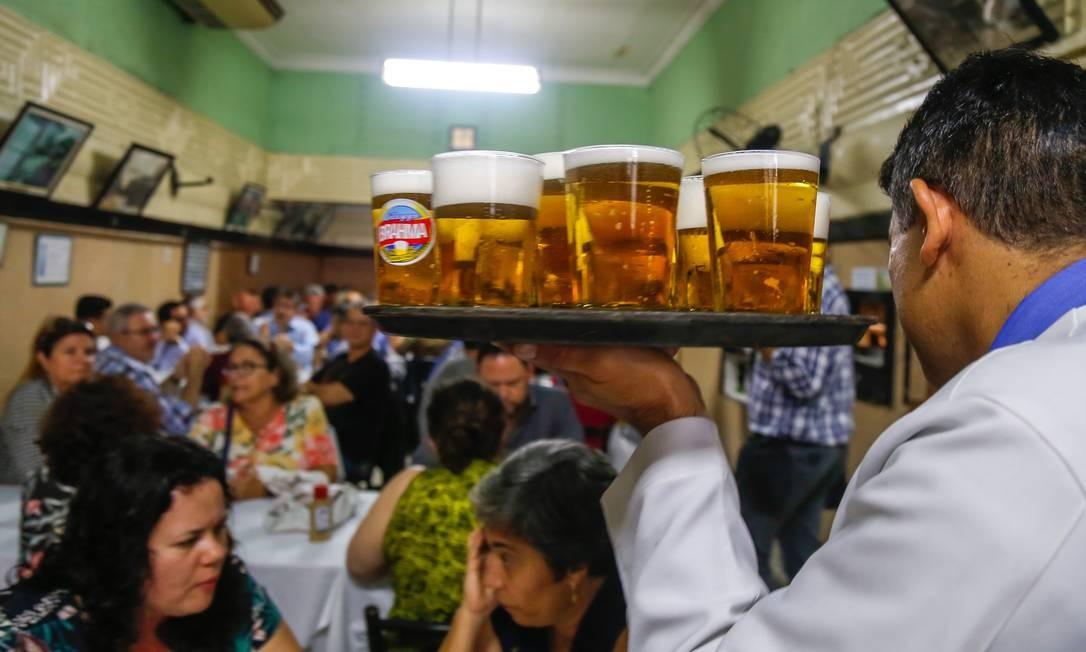 O Bar Luiz continuará aberto, anuncia dona Foto: Marcelo Regua em 09/09/2019 / Agência O Globo