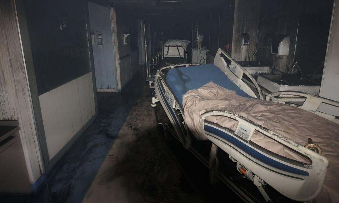 Após momentos de pânico 92 pacientes escaparam da morte Foto: Fotos cedidas pela TV Globo