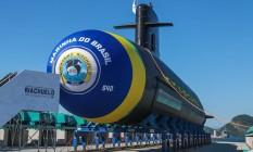 Prosub, desenvolvimento de submarinos: Consiste na construção de um estaleiro e cinco submarinos, sendo um deles nuclear Foto: Marcelo Régua / Agência O Globo