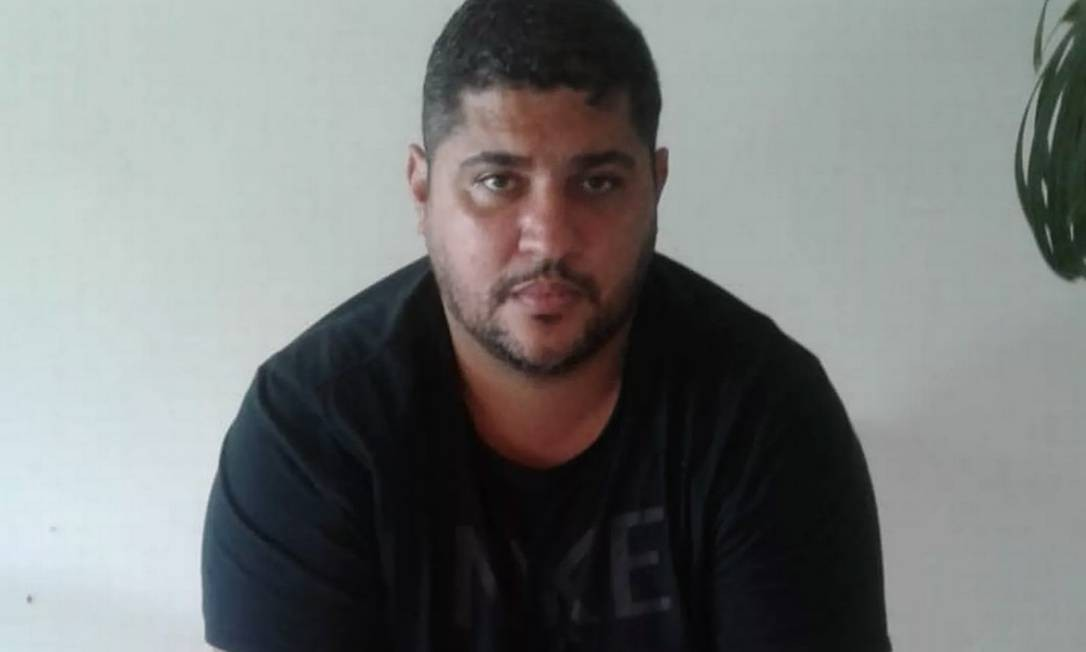 André de Oliveira Macedo, conhecido como André do Rap, preso neste domingo em condomínio de luxo, em Angra dos Reis Foto: Divulgação