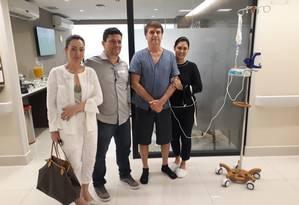 Moro em visita a Bolsonaro Foto: Reprodução / Twitter