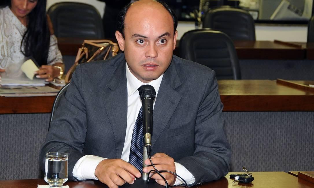 Sandoval Cardoso (SD), ex-governador do Tocantis: investigação teve acesso a conversas no WhatsApp Foto: Assembleia Legislativa / Divulgação
