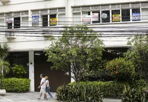 Imóveis em poder dos bancos podem ser obstáculo à recuperação do setor. Foto: Gabriel de Paiva / Agência O Globo