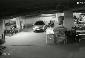 O gerador, no canto esquerdo da imagem, antes do curto-circuito do equipamento Foto: Reprodução TV Globo