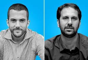 Carlos Jordy (PSL) e Flávio Serafini (PSOL) são pré-candidatos em Niterói Foto: Editoria de Arte
