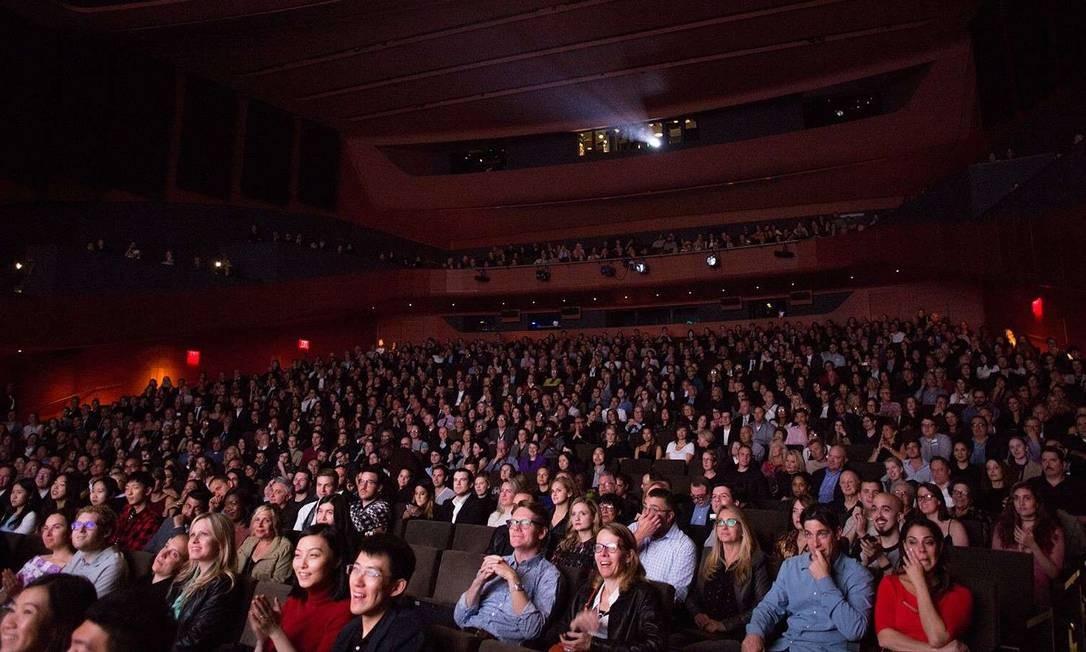 Sessão durante o Festival de Cinema de Nova York Foto: Divulgação/New York Film Festival